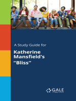 "A Study Guide for Katherine Mansfield's ""Bliss"""