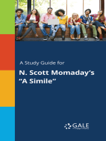 "A Study Guide for N. Scott Momaday's ""A Simile"""