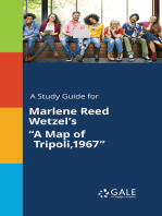 "A Study Guide for Marlene Reed Wetzel's ""A Map of Tripoli,1967"""