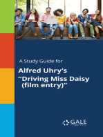 "A Study Guide for Alfred Uhry's ""Driving Miss Daisy (film entry)"""