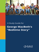 """A Study Guide for George MacBeth's """"Bedtime Story"""""""