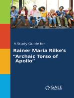 """A Study Guide for Rainer Maria Rilke's """"Archaic Torso of Apollo"""""""