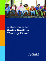 "A Study Guide for Zadie Smith's ""Swing Time"""