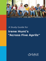 "A Study Guide for Irene Hunt's ""Across Five Aprils"""