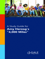 "A Study Guide for Amy Herzog's ""4,000 Miles"""