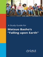 "A Study Guide for Matsuo Basho's ""Falling upon Earth"""