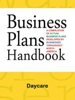 Business Plans Handbook: Daycare