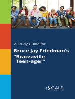 "A Study Guide for Bruce Jay Friedman's ""Brazzaville Teen-ager"""