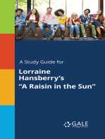"A Study Guide for Lorraine Hansberry's ""A Raisin in the Sun"""