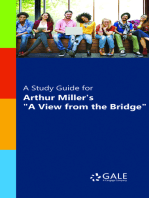 """A Study Guide for Arthur Miller's """"A View from the Bridge"""""""