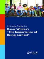 """A Study Guide for Oscar Wilde's """"The Importance of Being Earnest"""" (film entry)"""