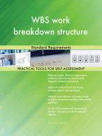 WBS work breakdown structure Standard Requirements