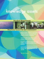 knowledge assets Standard Requirements