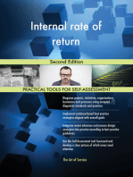 Internal rate of return Second Edition