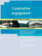 Constructive engagement Standard Requirements