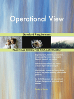 Operational View Standard Requirements