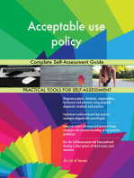 Acceptable use policy Complete Self-Assessment Guide