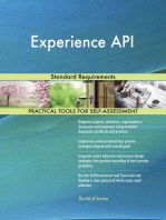 Experience API Standard Requirements