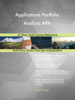 Applications Portfolio Analysis APA A Clear and Concise Reference