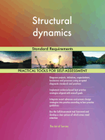 Structural dynamics Standard Requirements