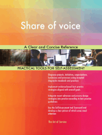 Share of voice A Clear and Concise Reference