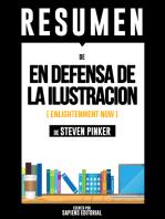 En Defensa De La Ilustración (Enlightenment Now) – Resumen Del Libro De Steven Pinker