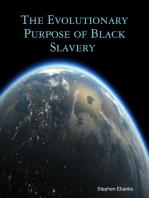 The Evolutionary Purpose of Black Slavery