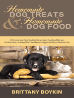 Homemade Dog Treats and Homemade Dog Food