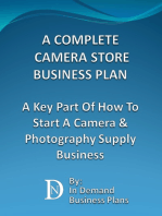 A Complete Camera Store Business Plan