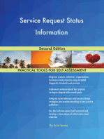 Service Request Status Information Second Edition