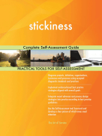 stickiness Complete Self-Assessment Guide