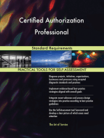 Certified Authorization Professional Standard Requirements