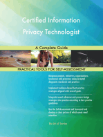 Certified Information Privacy Technologist A Complete Guide