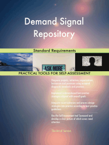 Demand Signal Repository Standard Requirements