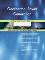 Geothermal Power Generation A Clear and Concise Reference