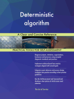 Deterministic algorithm A Clear and Concise Reference