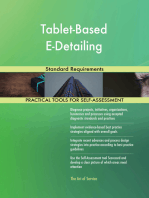 Tablet-Based E-Detailing Standard Requirements