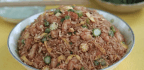 A Recipe For Fried Rice With Shrimp And Vegetables That Makes Smart Use Of Leftovers