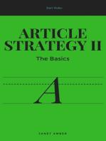 Article Strategy II