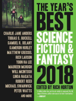 The Year's Best Science Fiction & Fantasy, 2018 Edition