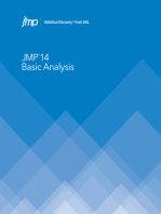 JMP 14 Basic Analysis