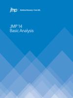 JMP 14 Basic Analysis