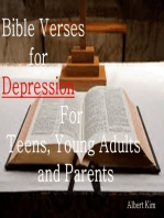 Bible Verses for Depression For Teens, Young Adults and Parents