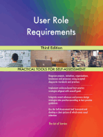 User Role Requirements Third Edition