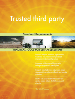 Trusted third party Standard Requirements