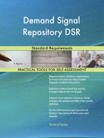 Demand Signal Repository DSR Standard Requirements
