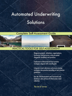 Automated Underwriting Solutions Complete Self-Assessment Guide