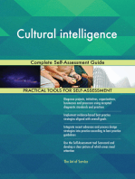 Cultural intelligence Complete Self-Assessment Guide