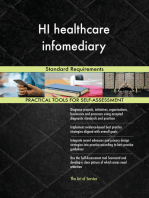HI healthcare infomediary Standard Requirements