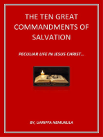 Ten Great Commandments Of Salvation